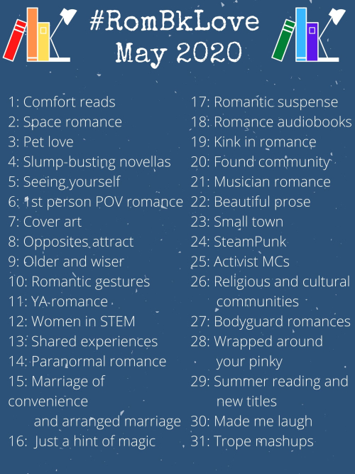 #RomBkLove May 2020 prompts